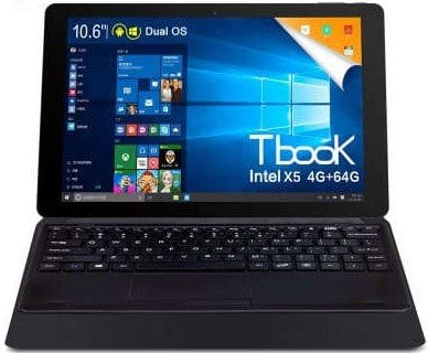 Teclast TBook 11 tablet specs and photo