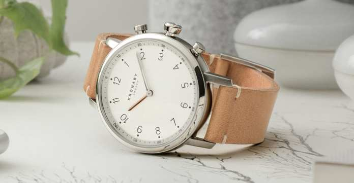 Kronaby Smartwatch Leather Band