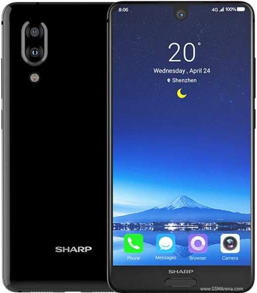 sharp aquos s2 1