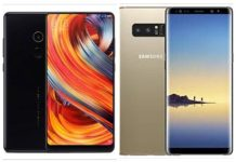 Xiaomi Mi Mix 2 vs Samsung Galaxy Note 8
