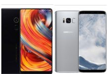 Xiaomi Mi Mix vs Samsung Galaxy S8