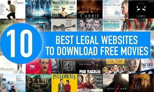 10 Free Legal Websites To Download Movies