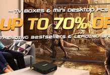 Gearbest TV Box Sale Special