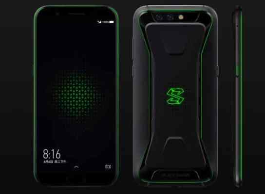 Xiaomi Black Shark VS Razor Phone