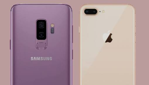 iPhone 8 Plus and Galaxy S9 Plus