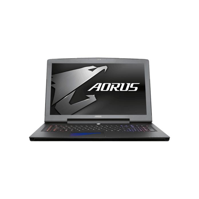 The Aorus X7 v6 Gaming Laptop Powered by Gigabyte