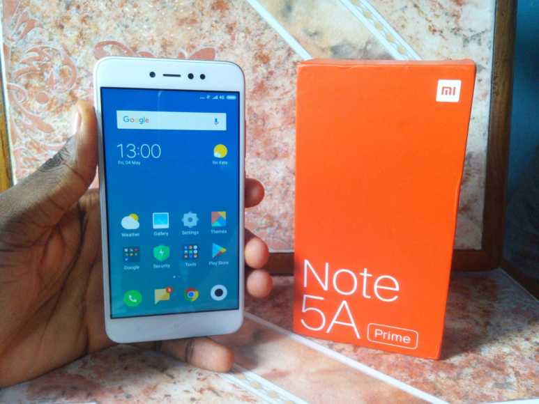 Xiaomi Redmi Note 5a Prime Unboxing And First Impressions Ram 2 Rom 16