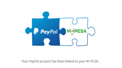 Link m-pesa account to PayPal