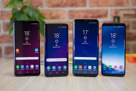 Samsung Galaxy S9 S9 Plus S8 and S8 Plus