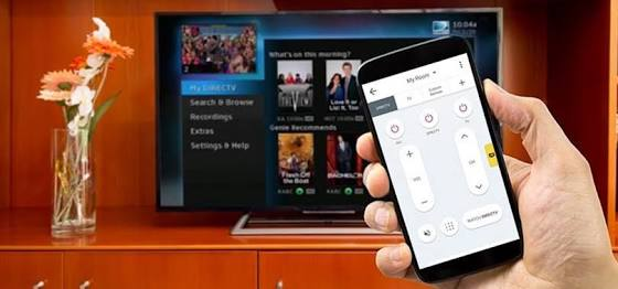 Smartphone as a tv remote