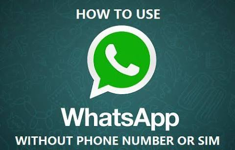 WhatsApp without sim