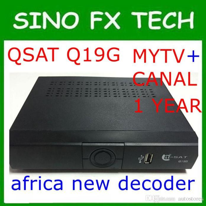 dhl africa mytv and canalsat receiver q sat