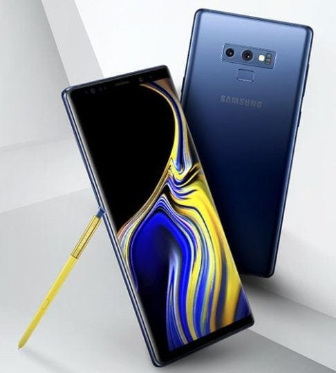 leaked galaxy note 9 press image 486x540