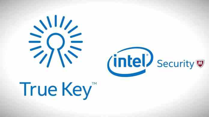 Intel True Key logo