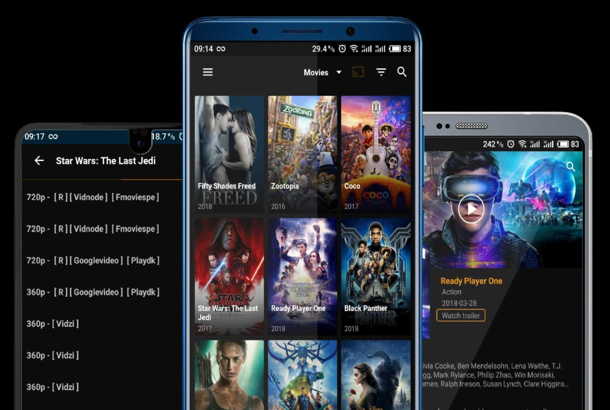 best apps to watch films on android