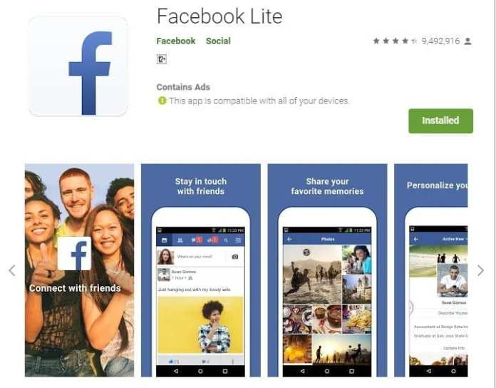 Top Lite Social Media Apps