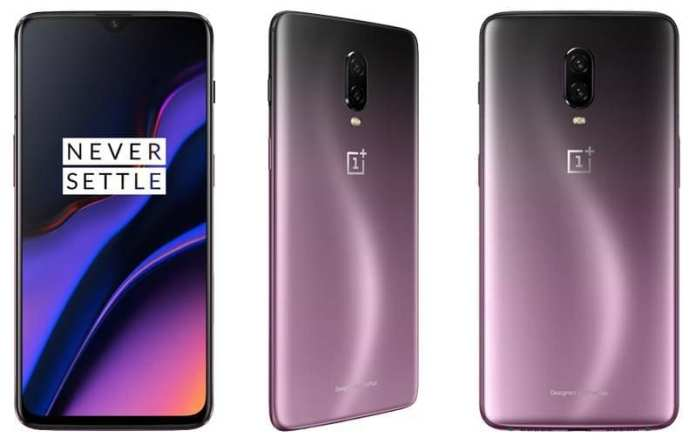 OnePlus 6T Android Pie Thunder Purple