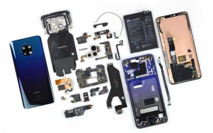 huawei mate 20 pro under the knife