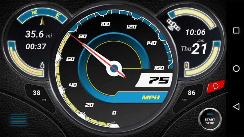 5 best speedometer apps for android smartphones and tablets