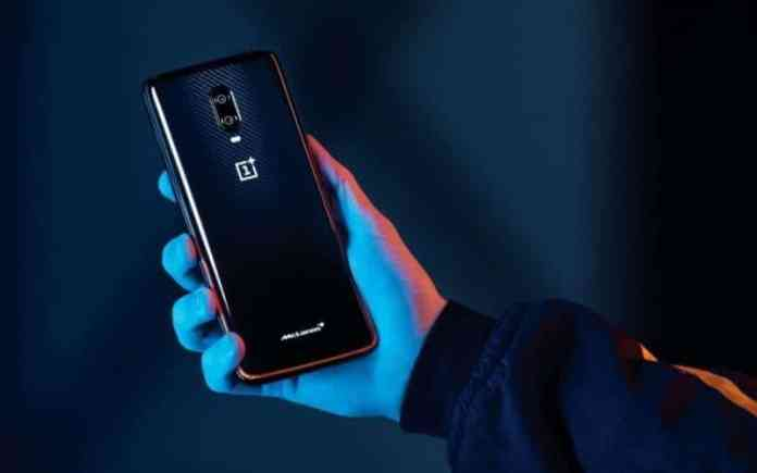 OnePlus 6T McLaren Edition smartphone Android