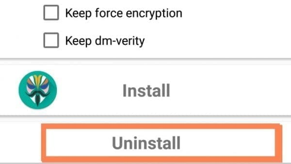 Unroot Android Phone