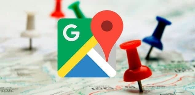 travel history of Google Maps