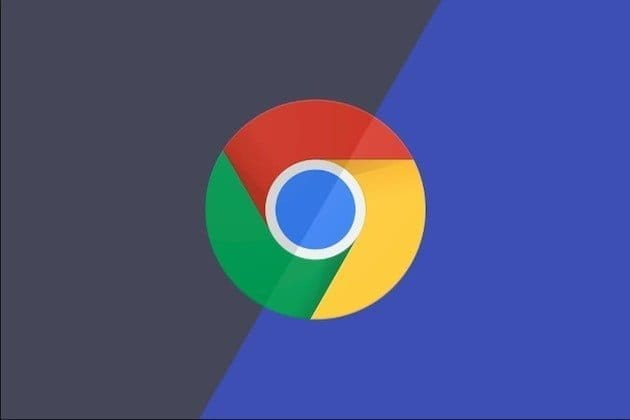 chrome dark mode logo