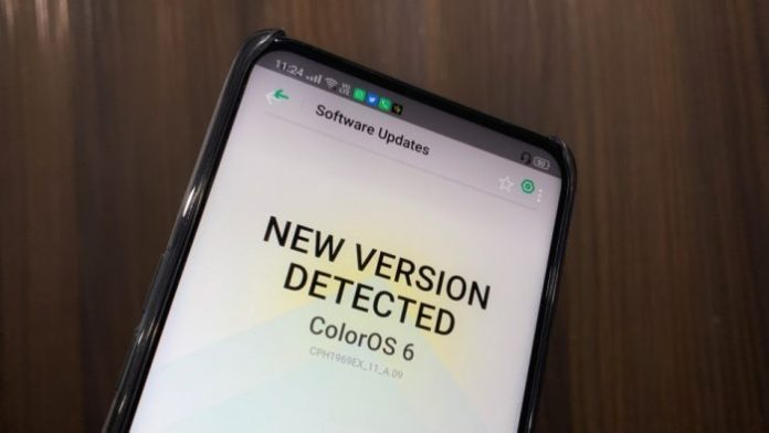 ColorOS 6 update to Oppo F11 Pro 700x394