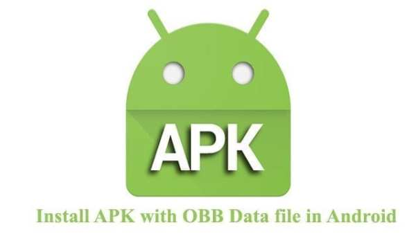 Install Game APK + OBB File