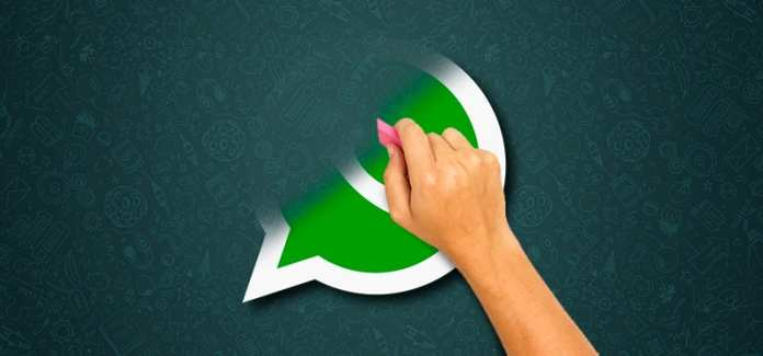 delete WhatsApp from a stolen or lost phone