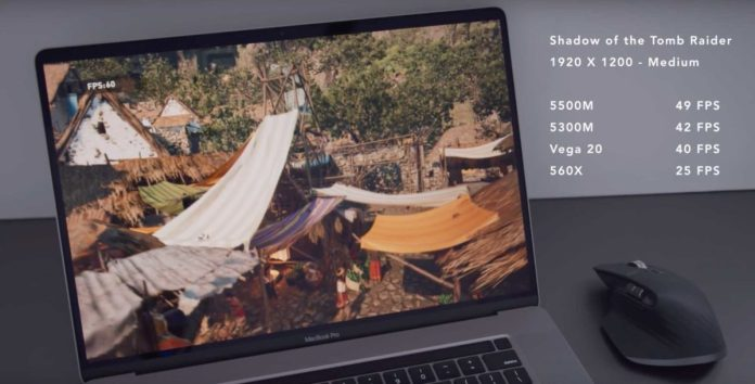 MacBook Pro highlight the improvements in thermal management scaled