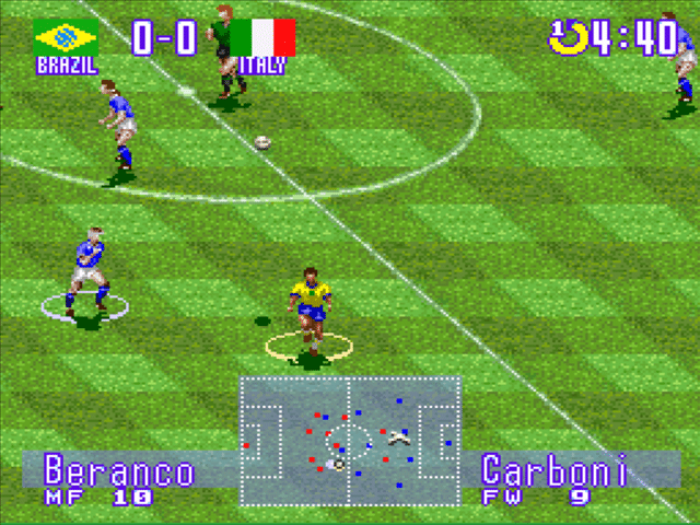 International Super Star Soccer Deluxe