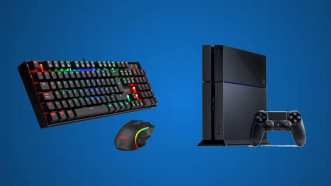 Keyboard And Mouse On Playstation 4