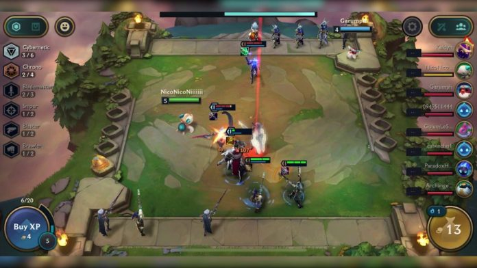 Teamfight Tactics Game1