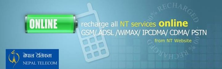 Nepal Telecom Introduces Online Recharge using NT Recharge Card