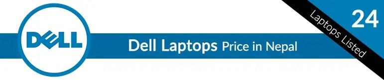 Dell Laptops Price in Nepal
