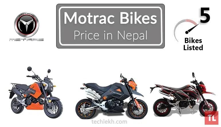 Motrac bike price in Nepal