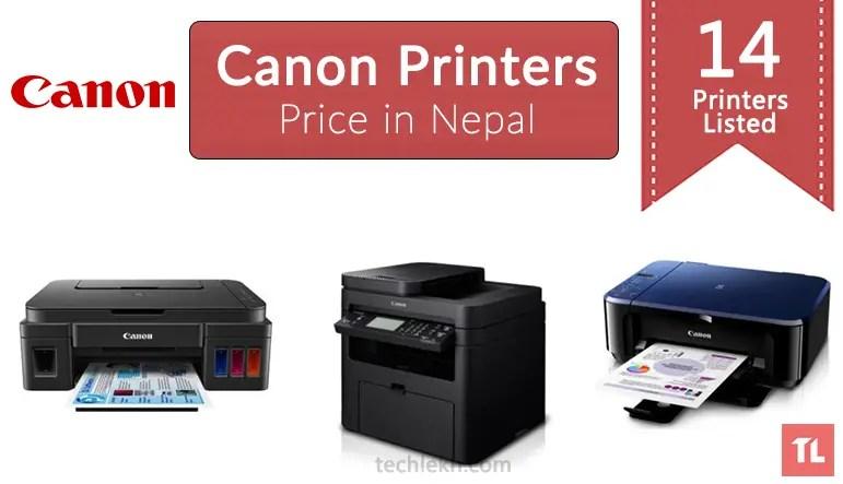 canon printer price in nepal