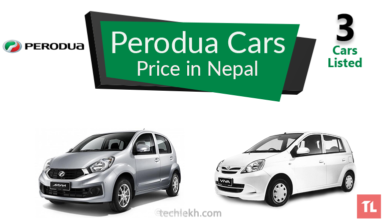 perodua car price in nepal