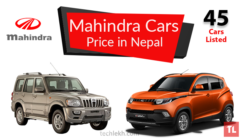 mahindra car price in nepal