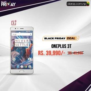 OnePlus 3T on Heavy Discount: Daraz Black Friday Sale