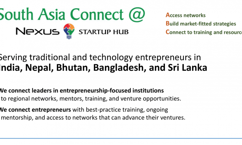 South Asia Connect to Choose 8 Entrepreneurs From Nepal
