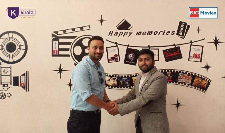 Anytime, Anywhere Movie Tickets with Khalti and Big Movies Tie-up