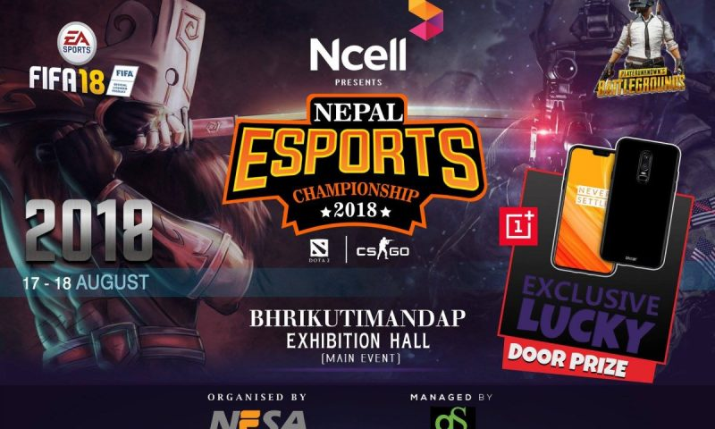 Nepal eSports Championship 2018 Kicks Off Tomorrow: Prize Pool of Rs. 4,30,000