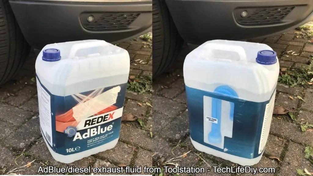 diesel exhaust fluid low refill