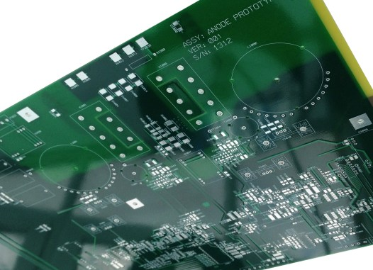 Anode Power Supply Unpopulated Printed Circuit Board