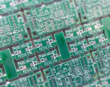 Techline Shock Sensor PCB Panel