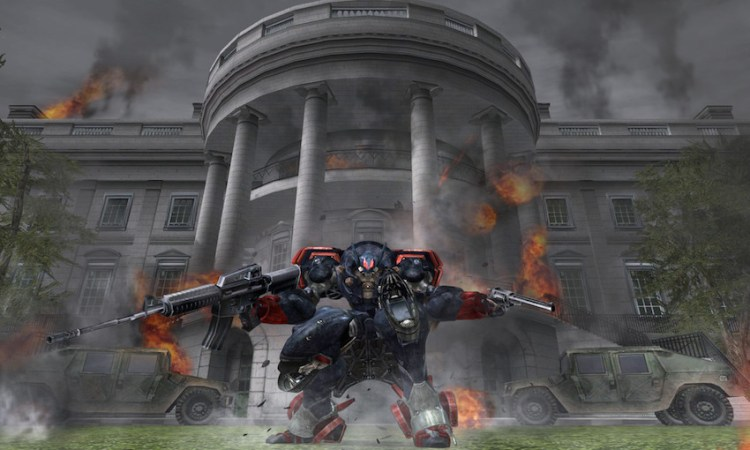 Metal Wolf Chaos - The Most Patriotic Game You'll Ever Play