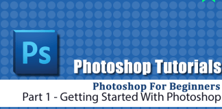 photoshop beginner 1