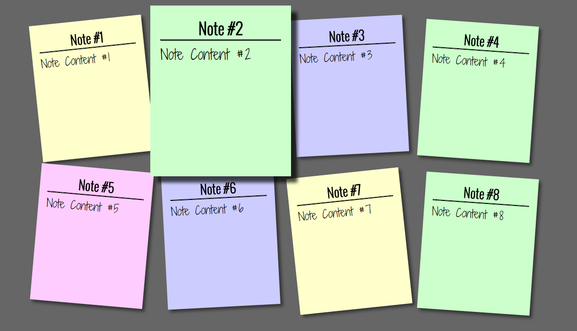 Add Sticky Note Effect In Your Websites Using HTML And CSS